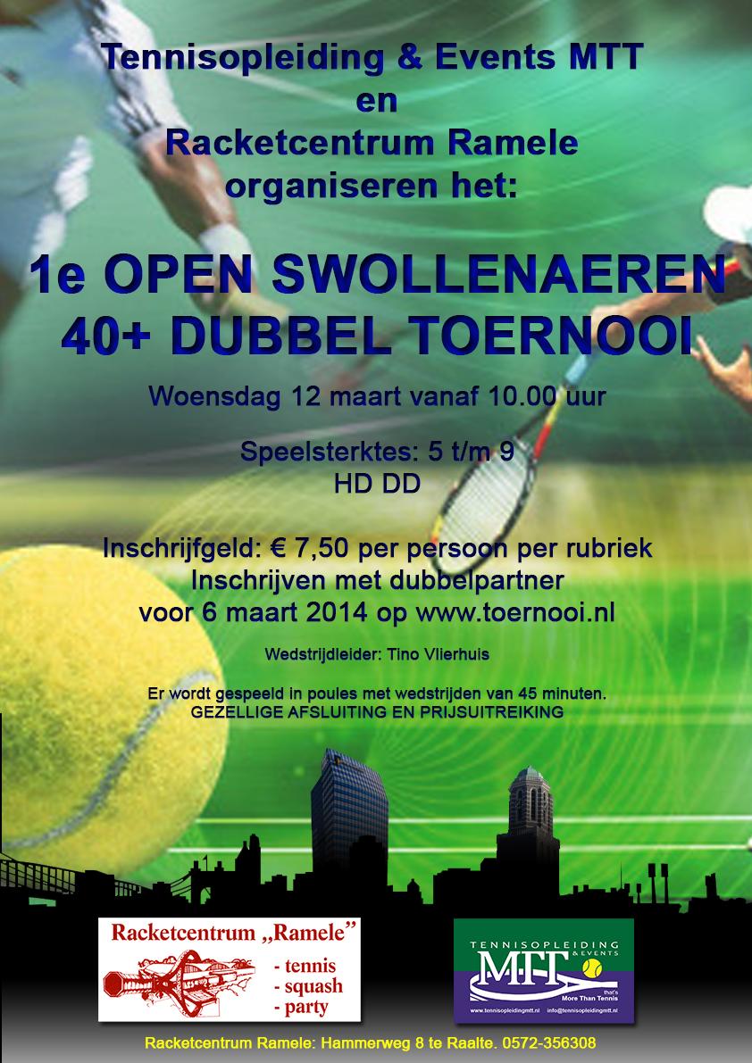 1e Open 40+ Swollenaeren Toernooi