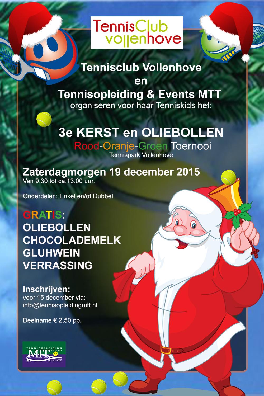 Poster 3e Kerst en oliebollentoernooi